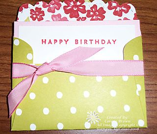 Gift Notes Big Shot Bella